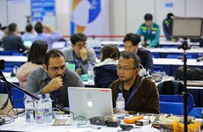 Foreign reporters commend DPRK-USA Summit IMC's working facilities