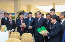 DPRK Party delegation visits Vietnam Agriculture Science Institute
