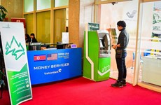 Only Vietcombank provides money exchange service at DPRK-USA Summit