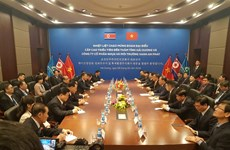 Senior officials of Workers' Party of Korea visit Hai Duong province