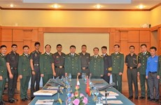 Vietnamese, India young officers enhance exchange