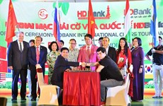HDBankCup Int'l Chess Tournament opens in HCM City