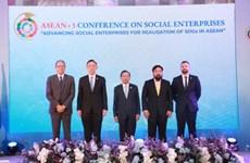 Thailand holds ASEAN+3 Conference on Social Enterprises