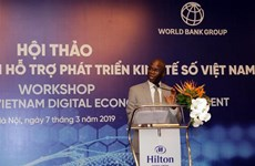Workshop seeks to boost Vietnam's digital economic development