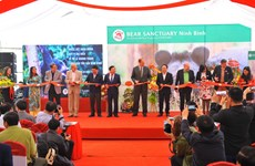 Bear conservation centre opened in Ninh Binh province