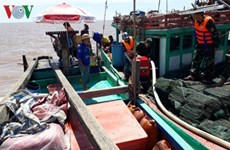 Fishermen rescued at sea