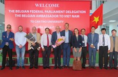 Belgium wishes to cooperate with Can Tho University