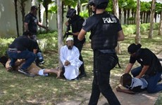 Malaysia arrests nine terror suspects