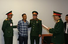 Defence Ministry arrests man in int'l wanted list