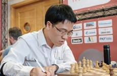 Vietnamese GM ranks third at US Spring Chess Classic