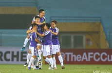 Hanoi, Binh Duong to play Singaporean, Philippine teams in AFC Cup