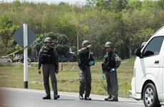Thai police arrest suspect connected with bomb blasts in southern region