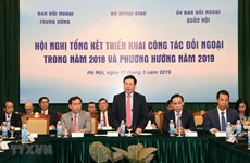 Vietnam to continue improving external work in 2019