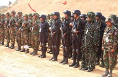 Cambodia, China hold joint military exercise