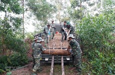 25 mortar shells safely relocated in Quang Tri