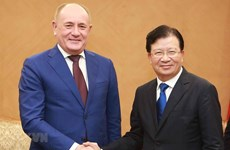 Deputy PM hails Gazprom's investment expansion plans in Vietnam