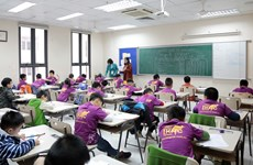 24,000 Vietnamese students sit Int'l Kangaroo Math Contest