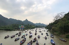 Huong Pagoda welcomes over 1 million visitors