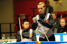Vietnam lose to Netherlands in world billiards quarterfinals
