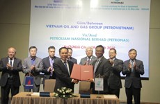 Oil corporations of Vietnam, Malaysia sign gas deal