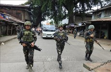 Philippines intensifies anti-terrorism operation in southern region