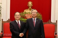 Party official receives Chinese guest
