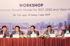 Seminar talks Vietnam's economic growth model