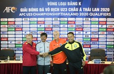 All teams in Group K ready for AFC U23 qualifiers