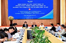 Vietnam learns international experience in building e-government