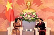 Top legislator welcomes Cambodia's NA Second Vice President