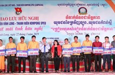 Youth exchange between Vietnamese, Cambodian localities