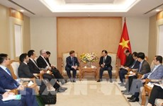 Deputy PM receives Australian energy firm representative