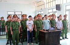 Sentences upheld for 13 rioters in Binh Thuan
