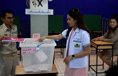 Pheu Thai Party leads Thai election in terms of MP seats