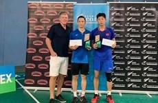 Vietnamese player wins badminton tournament in New Zealand