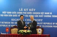 Vietnam, RoK to co-produce TV programmes
