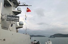 Vietnamese naval ship attends LIMA 2019 in Malaysia