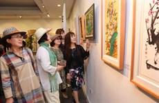 First Vietnam-RoK int'l fine arts exhibition held