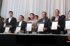 Thai election: Pheu Thai forms alliance with six pro-democracy parties