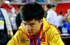 Vietnamese chess players rank in top 10 of Sharjah Masters