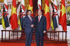 PM Phuc stresses significance of VN-Brunei comprehensive partnership