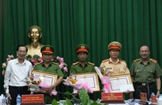 HCM City police uncover trafficking of 315 kg of heroin
