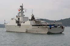 Vietnam's HQ 012-Ly Thai To joins fleet review at LIMA 2019