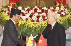 Brunei's Sultan concludes Vietnam visit