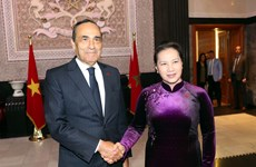 NA Chairwoman, Moroccan House Speaker hold talks