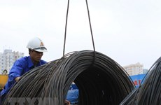 Steel exports edge up 5.8 percent in Q1