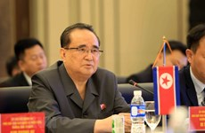 DPRK, Laos step up cooperation