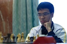 Vietnamese chess players fail to win title at Sharjah championship