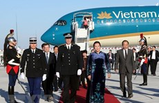 NA Chairwoman Nguyen Thi Kim Ngan begins official visit to France