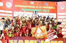 Vietnam win U19 International Football Championship